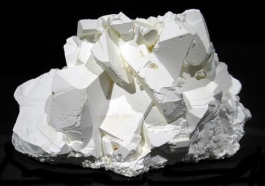 Borax is pure white