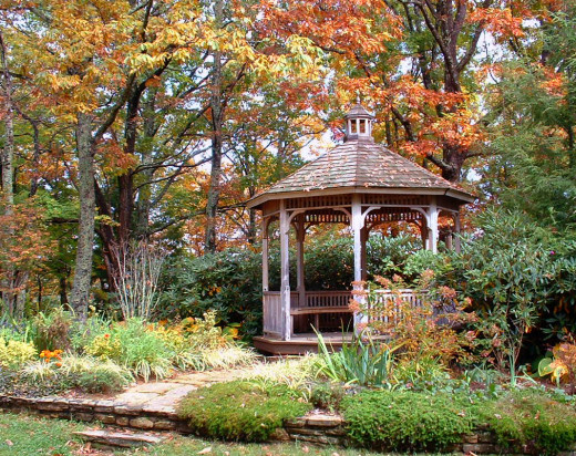 Gazebo at Wildacres, North Carolina's Blue Ridge Mountains