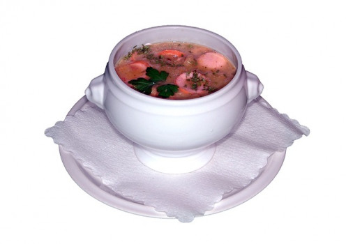Soup With Vegetables And Meat