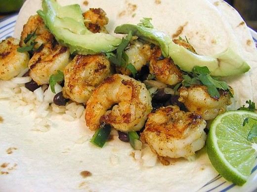 Grilled Shrimp Tacos Are So Very Tasty And Delicious.