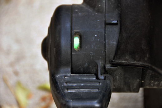 Britax brake indicator: Green means go!