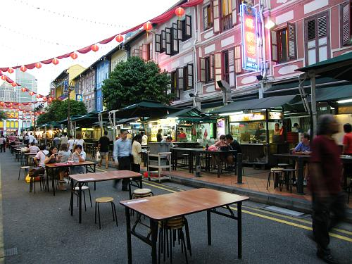 Smith St., one of the streets in Chinatown that offers various delicacies and souvenirs with ethnic touch.