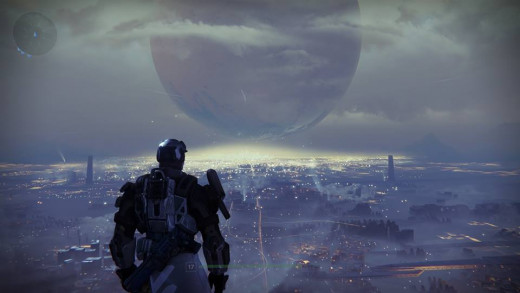Be prepared for some stunning visuals in Destiny.