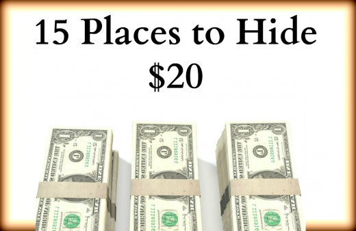 15 Places to Hide $20