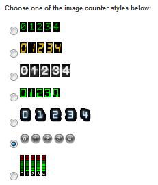 Mechanic Visitor Counter Widget Image Counter Option