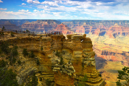 Flat lying sedimentary rocks in the Grand Canyon provide evidence of a deluge.