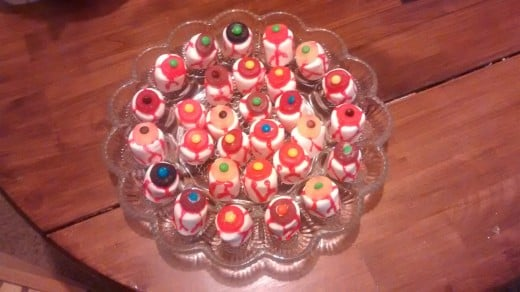 A party platter of eyeballs