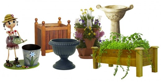 From classical to modern to whimsical, from traditional troughs to self-watering stackables, you'll find planters of all sizes, materials, and styles readily available. Click info icon link to learn more.