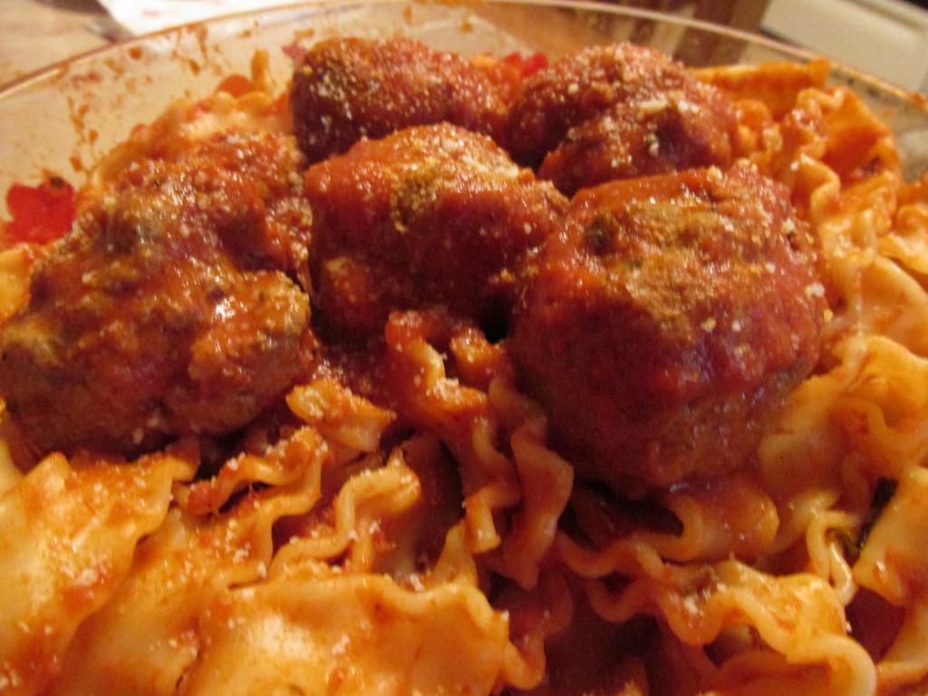 Real Italian Meatballs and Spaghetti Sauce