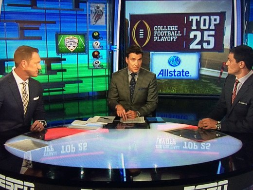 ESPN Pundits discuss the first iteration of the Top 4 College Football Playoff selections.
