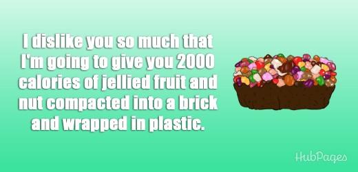 Really? Fruitcake?