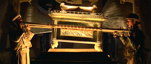 "The Ark of the Covenant as depicted in ""Raiders of the Lost Ark"""