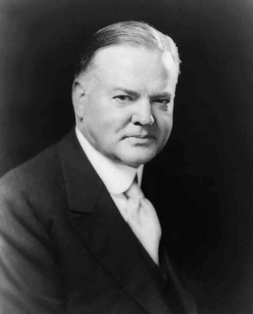 The nation largely blamed Hoover for its economic troubles.