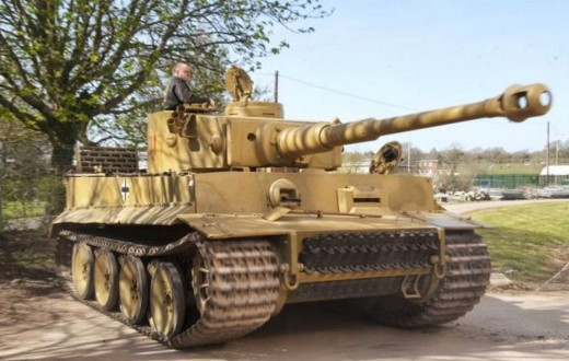 The last fully functional Tiger 1 tank from the Bovington Tank Museum in the UK