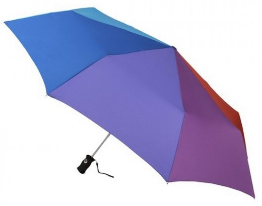 Colourful Totes Signature SuperDome Auto Open Close Umbrella