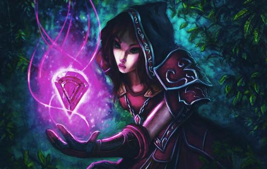 World of Warcraft and Diablo III Art