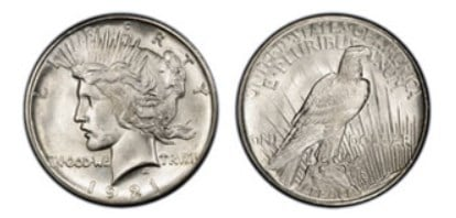 The 1921 Peace is the most notable one for all collectors due to the significance of the first year mint for this design.