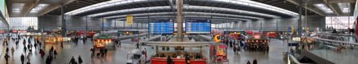 Munich Main Train Station; Source: Wikipedia