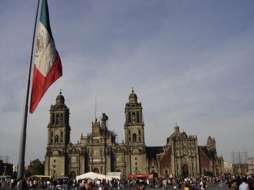 Zocalo, Mexico D.F.