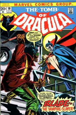Tomb of Dracula #10 the first appearance of Blade!