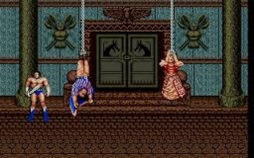 When you beat Death Adder and Death Bringer you save the King and queen of the town and bring peace back to the land.