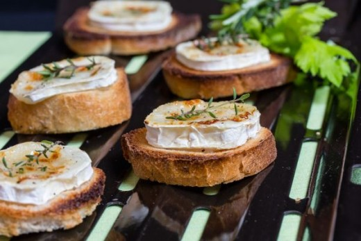 Toasted Goat Cheese
