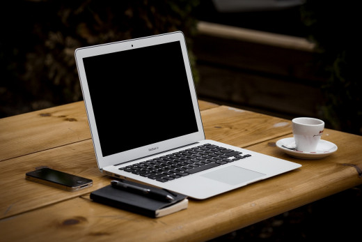 A change of scene from your regular workstation can help you overcome writer's block.