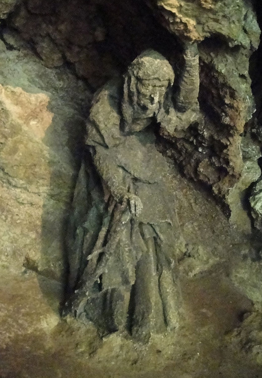 Mother Shipton's Cave and Petrifying Wall, Yorkshire, U K   England's oldest Tourist Attraction