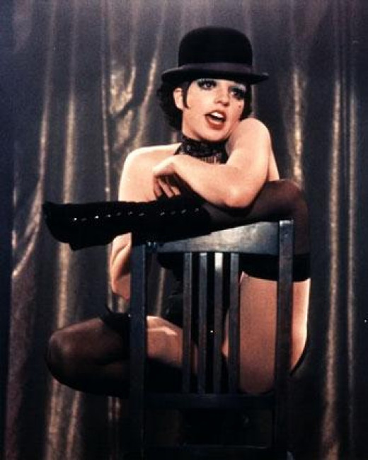 Liza Minnelli as Sally Bowles in the 1972 film version of Cabaret.