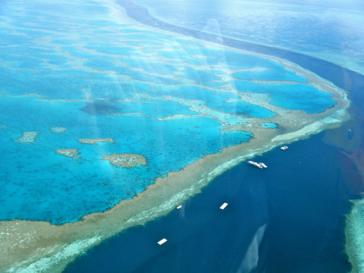 The Amazing Great Barrier Reef, Australia. The largest reef system in the world