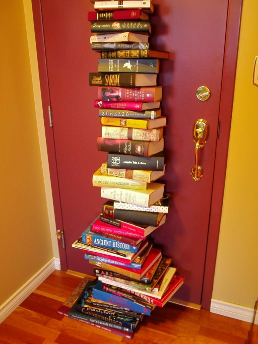 Books bring warmth & interest to a home in a way that no other object can.
