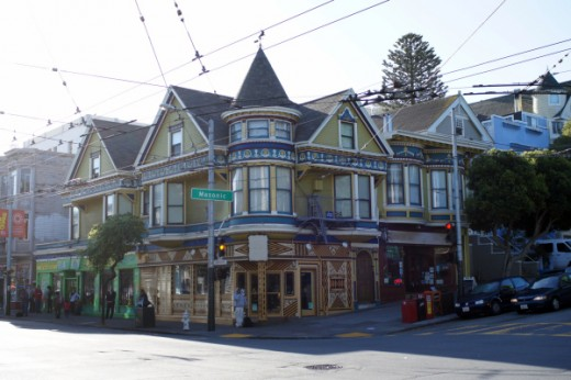 First, the animators took a photo of a characteristic Victorian house in San Francisco