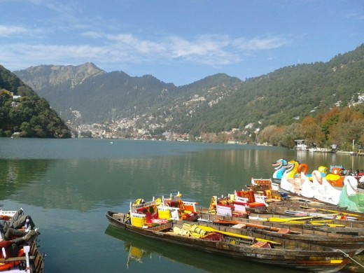 Nainital Lake and Hills