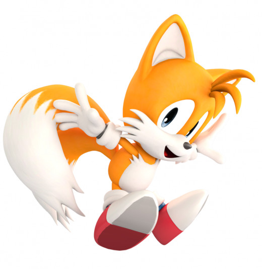 Tails as he appeared in the beginning.
