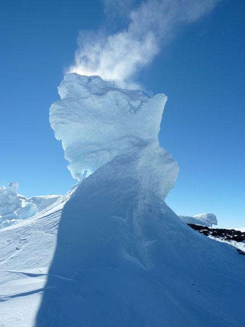 Mt Erebus Fumerole