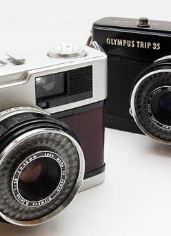 Olympus Trip 35, No Batteries Required