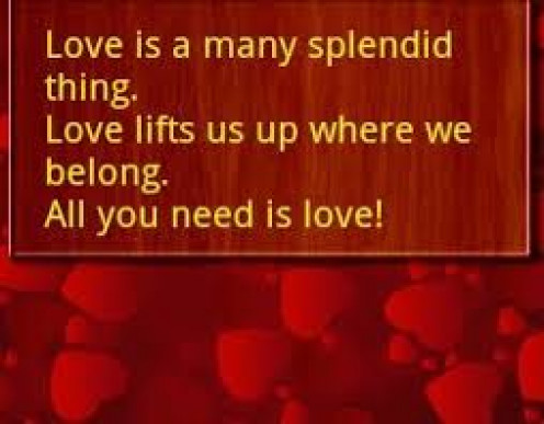 Love fills your life.