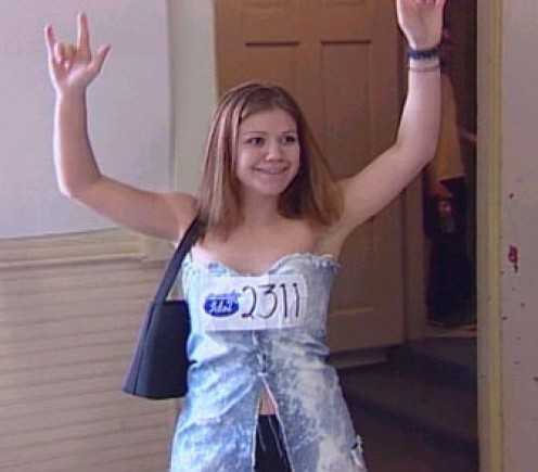 Kelly clarkson on american idol audition