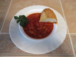 Tripe with Tomato Sauce