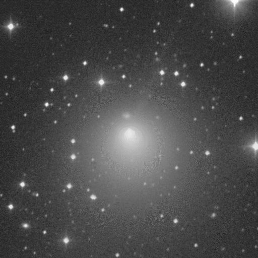 Image of short-period comet Encke obtained by Jim Scotti on 1994 January 5 while using the 0.91-meter Spacewatch Telescope on Kitt Peak.