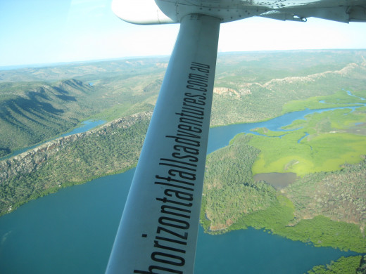 Flying will enable you to explore off the beaten track !