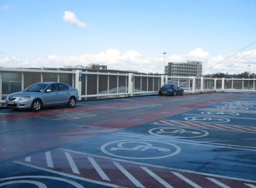 Disabled Parking Lot