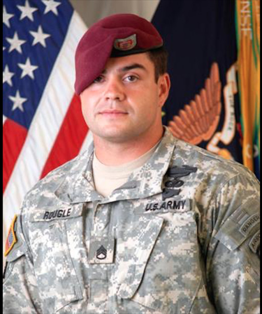 SSG Larry Rougle HHC Scouts 2/503rd KIA October 23, 2007.