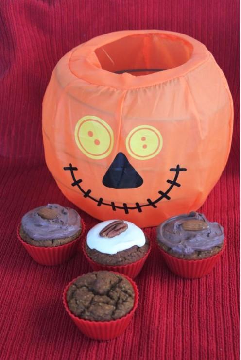 Diabetic Grain-Free Pumpkin Cupcakes
