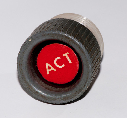 "Use the ""ACT"" button."