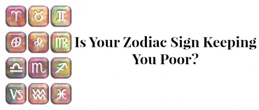 Is Your Zodiac Sign Keeping You Poor?   Exemplore