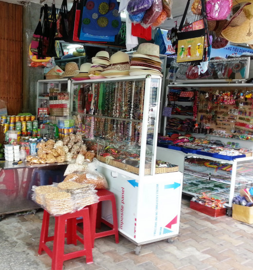 A shopping stall