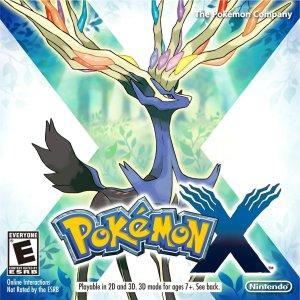 Pokemon X and Y boxart.