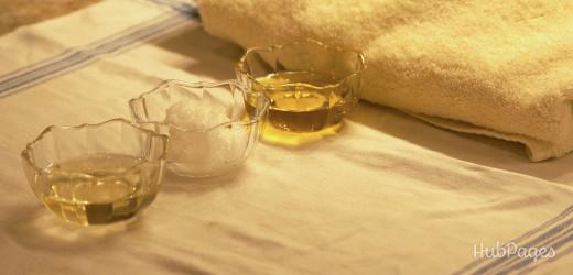 Three oils to help hair loss.