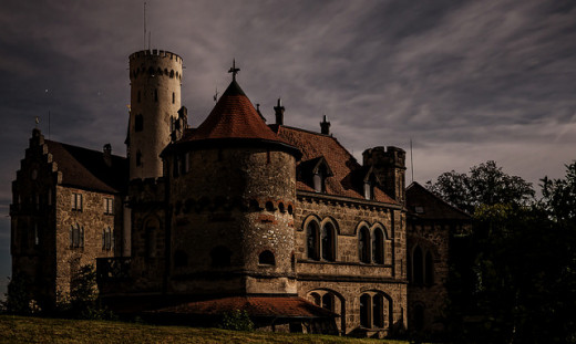 Staying a night in a creepy old castle? Research.